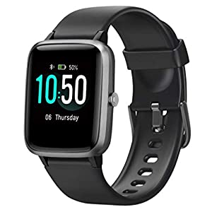 YAMAY Smart Watch Fitness Tracker Watches for Men Women, Fitness Watch Heart Rate Monitor IP68 Waterproof Digital Watch…