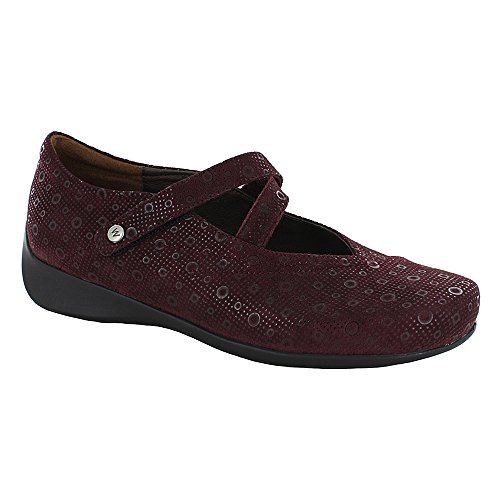Wolky 4703 Move Schuhe Bordo Pattern