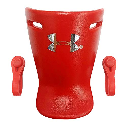 Under Armour Baseball Under Armour Catching Throat Guard Red, 4