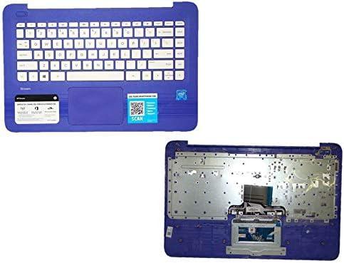 PTK HPストリームパープル14Ω用パームレストタッチパッドキーボード 905570-001 901658-001