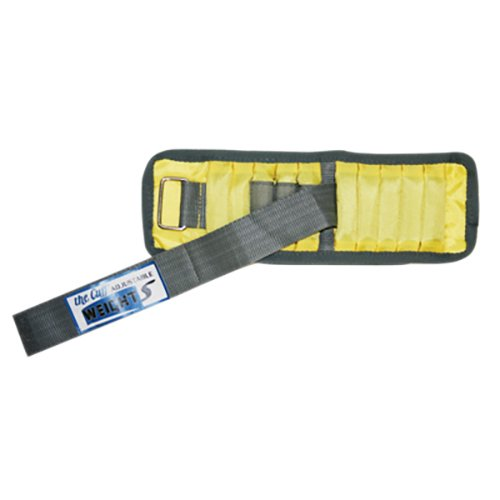 Adjustable Cuff Weight 10-3340-1 Wrist Weight 2 Lb. 10 x 0.2 Lb. Inserts Yellow Each