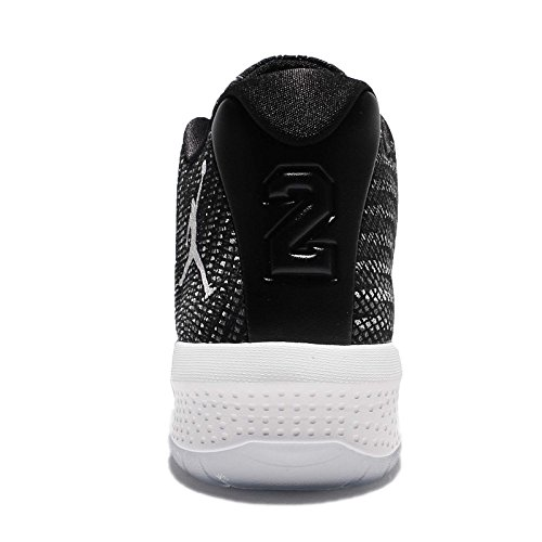 Jordan Mens B. Basketbalschoen Vliegen Zwart / Wit-donkergrijs