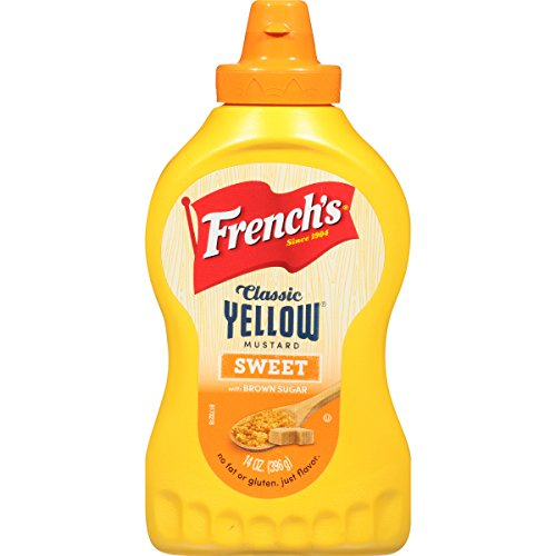 (French's Sweet Yellow Mustard, 14 Ounce (Pack of 12))