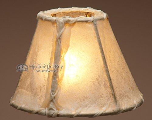 Southwestern Rawhide Chandelier Lamp Shade 6