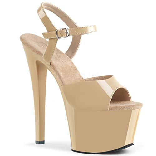 (Pleaser Women's Sky-309 Ankle-Strap Sandal)