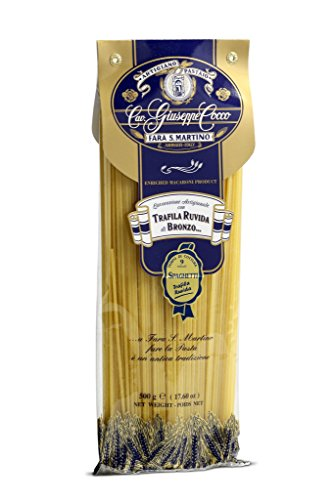 Spaghetti Artisan Pasta Cav. Giuseppe Cocco - Hand-made, slow dried (500g) from Italy (Dried Pasta)