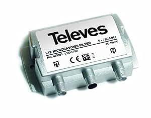 Televes 403301 - Filtro microavidades lte60 f 5-790mhz interior