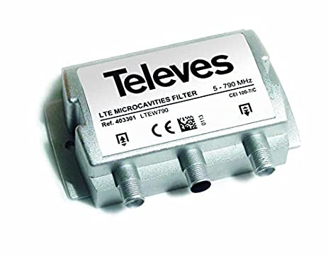 Televes filter LTE 403101 (ch. 21-58)F