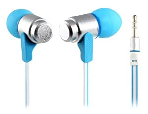 Wallytech WEA-116 3.5 mm Plug In-ear Earphone with 1.35 m Cable for iPhone, iPad, iPod (Blue)