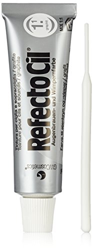 GWCosmetics 17910 Refectocil Wimpernfarbe graphit, 1er Pack (1 x 0.015 l)