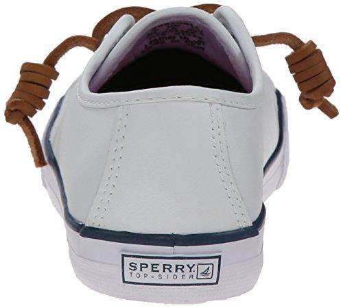 Sperry Bord De La Mer Or Pont De Filles / Chaussures Bateau - Blanc, EU 37 M Grand Enfant
