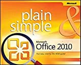 img - for Microsoft Office 2010 Plain & Simple [PB,2010] book / textbook / text book