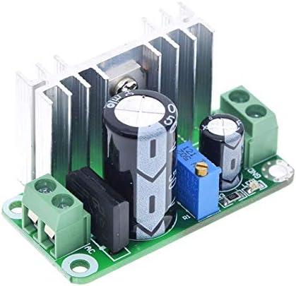 RongAi Chen LM317T DC-DCコンバータの調整可能バックステップダウン回路ボードモジュールリニアレギュレータ整流器フィルター付き電源