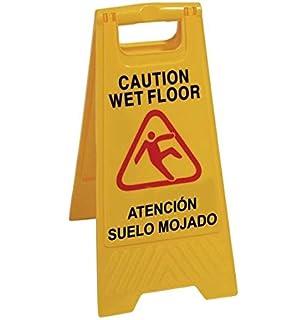 WOLFPACK 15050430 - Cartel Atencion Suelo Mojado 64x30 cm ...