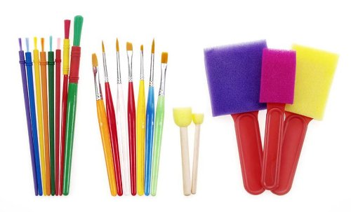 Darice 20 Piece Kids Brush Set