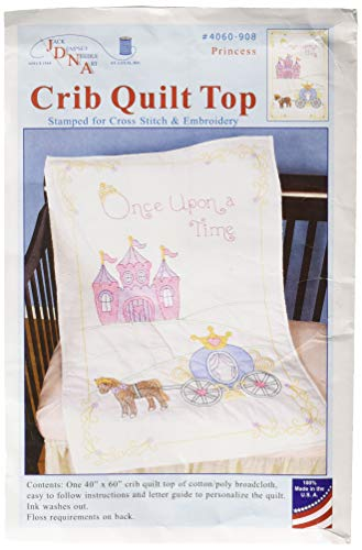 Jack Dempsey Needle Art 4060908 Once Once Upon a Time Baby Embroidery, 40