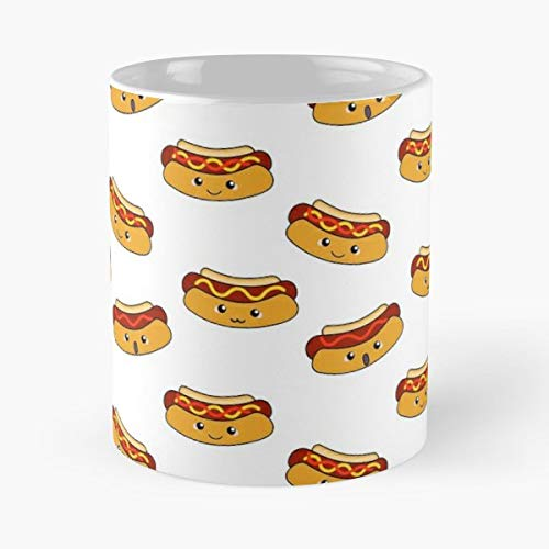 (Food Funny Hot Dog Hotdog - Funny Gifts For Men And Women Gift Coffee Mug Tea Cup White 11 Oz.the Best Holidays.)