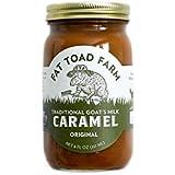Fat Toad Farm Classic Caramel Jar, Original, 8oz, Goat's Milk, Cajeta, Gluten-Free