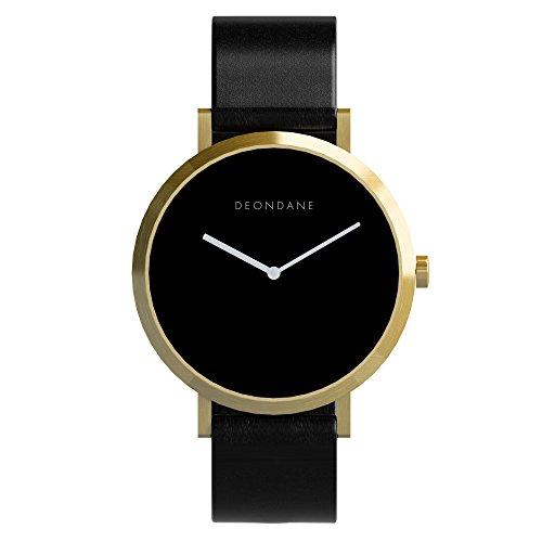 Deon Dane Gold & Black - Australian Kangaroo Leather Watch
