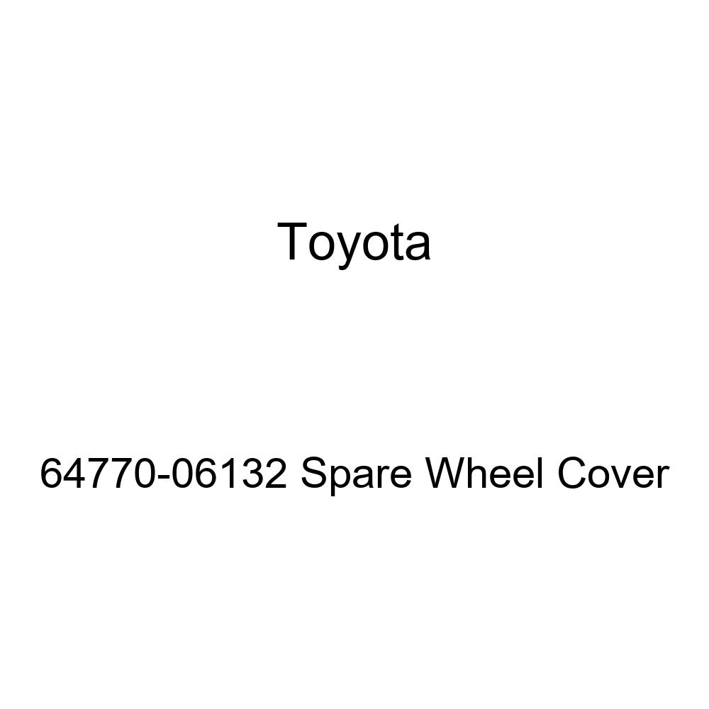 Toyota Genuine 64770-06132 Spare Wheel Cover