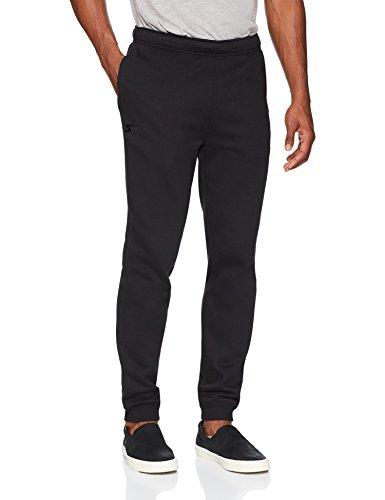 Starter Men's Jogger Sweatpants Pockets, Prime Exclusive, Black Embroidered Logo, Large