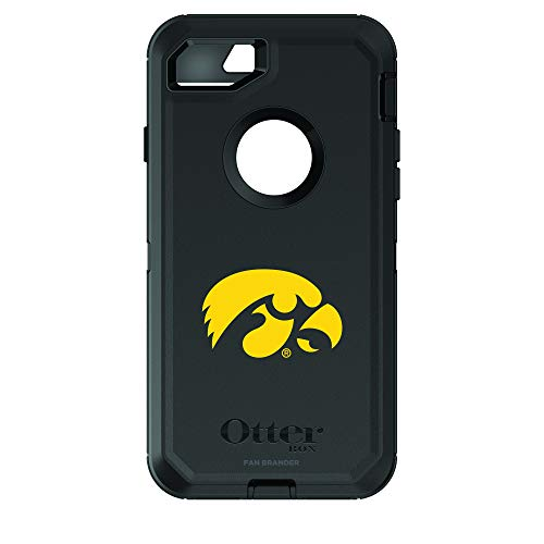 Fan Brander NCAA Phone case, Compatible with Apple iPhone 6 and Applie iPhone 6s with OtterBox Commuter Series (Iowa Hawkeyes)