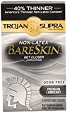 Trojan Supra Lubricated, 6 Count