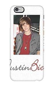 High Impact Dirt/shock Proof Case Cover For Iphone 6 Plus (justin Bieber Portraiats Pop Superstar Red Shirt Portraits People Men) hjbrhga1544