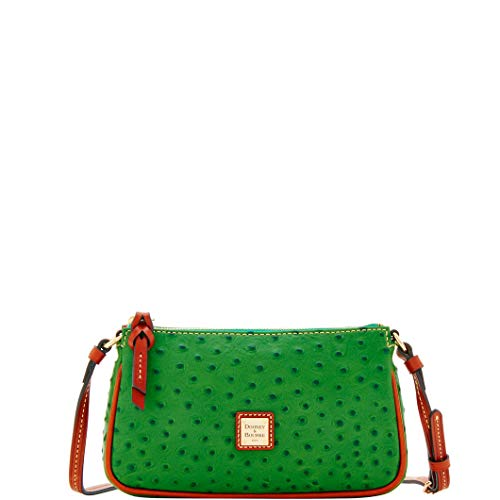 Dooney & Bourke Ostrich Lexi Crossbody Shoulder Bag ()