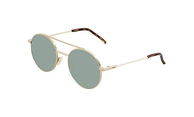 e47b03bed2a Image Unavailable. Image not available for. Color  Sunglasses Fendi 221  S  0J5G Gold   QT green lens