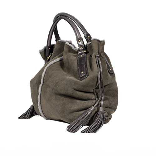 Gland Femme avec main tout Couleur Authentique en shopping à UGG fourre tonte Gris sac 5nOqS