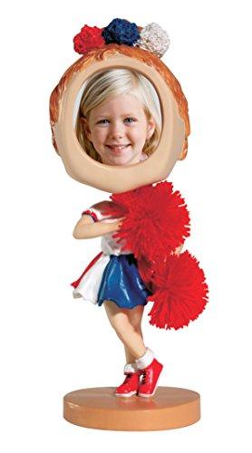 Neil Enterprises, Inc Cheerleader Photo Bobble Head (Figurine Cheerleader)