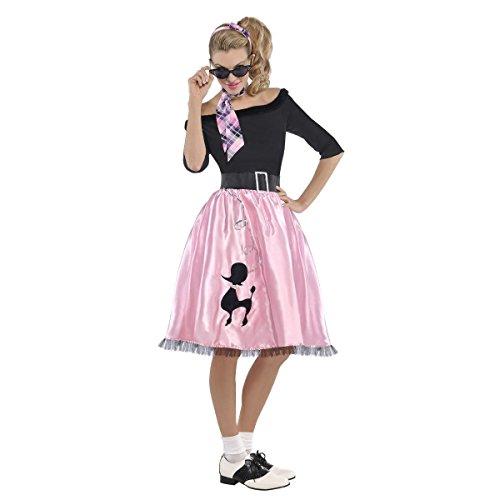 AMSCAN Sock Hop Sweetie 50's Halloween Costume