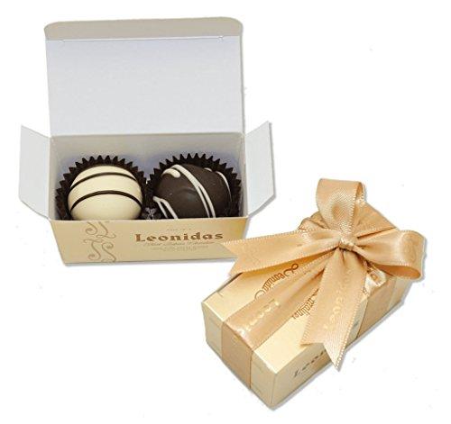 Leonidas Party Favors: 20 x 2 Piece Gold - Chocolates Leonidas Assorted
