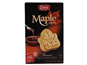 Dare, Cookie Maple Leaf Creme, 12.3 OZ (Pack of 3)