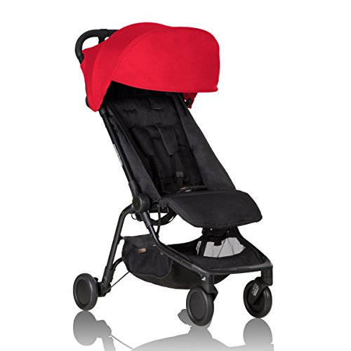 Mountain Buggy Nano Stroller, Ruby ()
