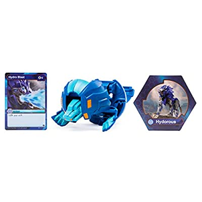 Bakugan Deka, Hydorous, Jumbo Collectible Transforming Figure, for Ages 6 & Up: Toys & Games