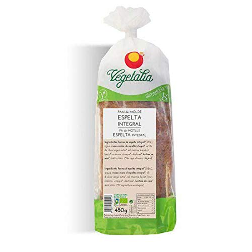 Pan de molde espelta integral BIO 480g: Amazon.es ...