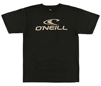 O'Neill Mens Jack O'Neill One Short-Sleeve Shirt Medium Black