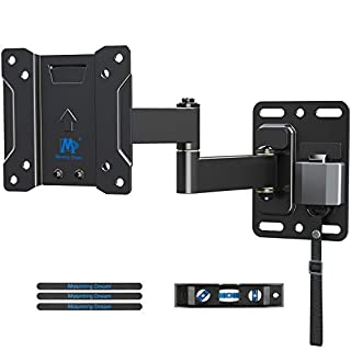 MD TV Mount Lockable RV TV Mount for 10-26 Inch Flat Screen TV, RV Mount for Camper Marine Boat Trailer, Full Motion RV TV Wall Mount Easy One Step Lock, VESA 100x100mm, 22 LBS Mounting Dream MD2209