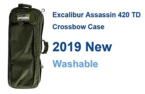 Excalibur Crossbow Case | Soft Recurve Crossbow Storage Bag | Explore Takedown Case | Archery Hunting Bow Case | Fit for All Excalibur/Barnett/PSE Crossbow