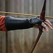 Archery Arm Guard, Medieval Renaissance Archer Gauntlet, Festival Hunter Arm Guard Armor Leather Bracer for Me