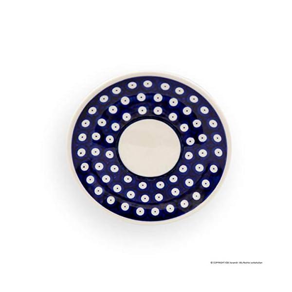 Bunzlauer Ceramic Saucer Diameter 16.00 cm Height 1.8 cm Design 41