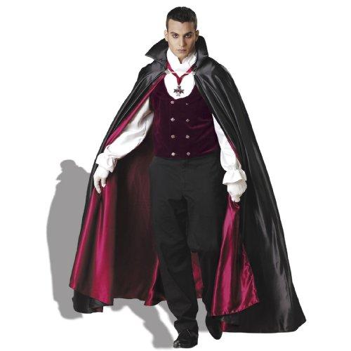 Gothic Vampire Costume - Large - Chest Size 42-44 (Gothic Vampire Elite Collection Adult Costume)