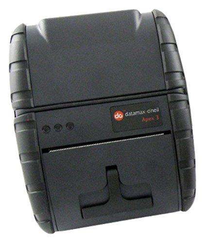 (Datamax 78828U1-4 Direct Thermal IOS Apex Mobile Printer, USB, Bluetooth, 203 DPI, Battery, AC Adapter, Belt Loop, Roll Of Receipt Paper, 3