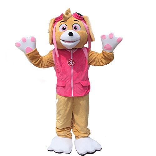 k228 Skye Paw Patrol Mascot Costume Marshall Costume]()