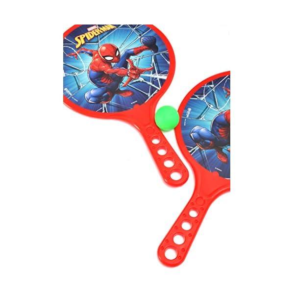 Racchettoni Spider-Man (cm 37x24) in plastica 4 spesavip