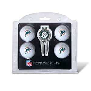 NFL Miami Dolphins 4 Golf Ball And Divot Tool Set