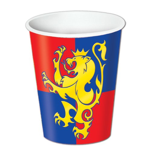 Cup Costume Pattern (Beistle Medieval Cups, 9 oz, Pack of 8)