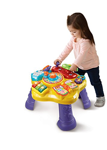41amOjt9JlL - VTech Magic Star Learning Table (Frustration Free Packaging)